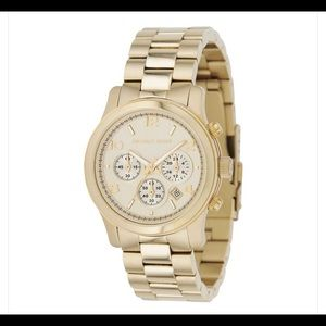 Michael Kors MK-5055 Gold Runway Watch
